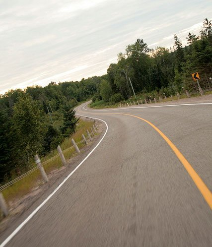 Buckhorn Road in Ontario