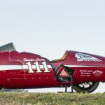"New Indian Thunder Stroke 111 Engine in ""Spirit of Munro"" Streamliner"