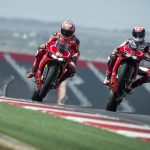 Nicky Hayden and Ben Spies Ride the 2013 Ducati 1199 Panigale R at Circuit of the Americas