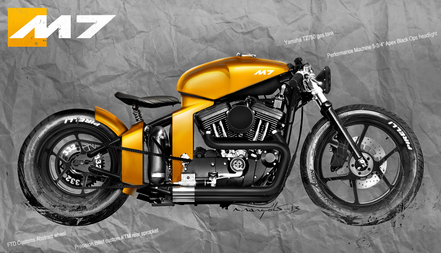 motorcycle design on - photo #35