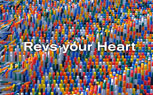 "Yamaha Showcases New ""Revs Your Heart"" Slogan with Impressive Domino Show – Video"