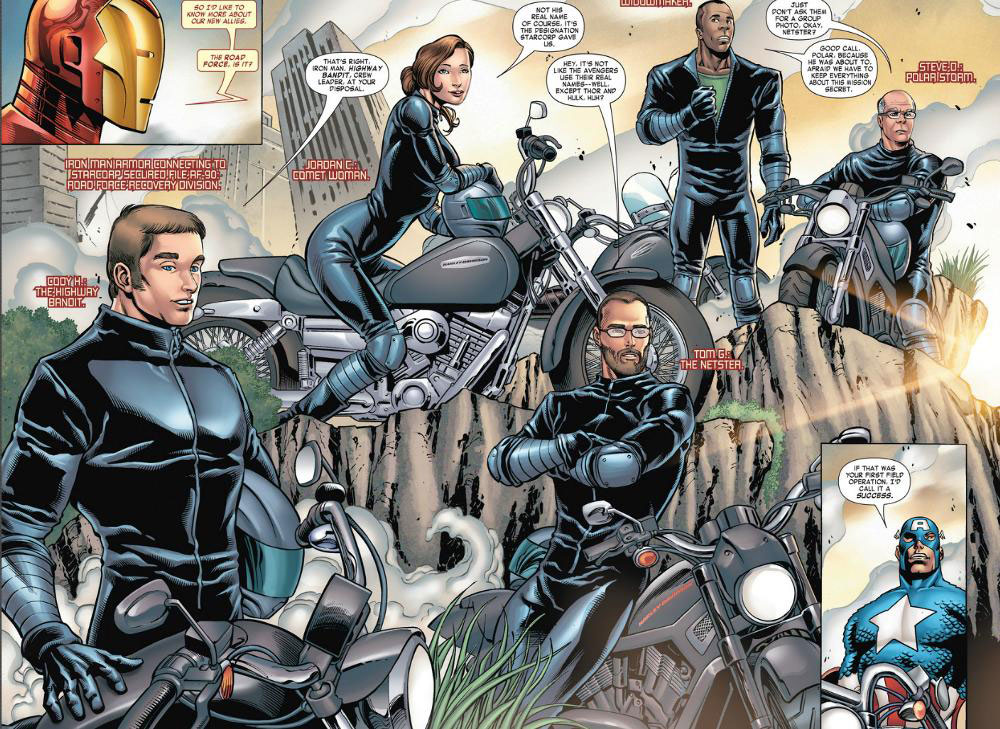 Harley-Davidson and Marvel Comics Team Up Again for Iron Man