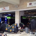 Monster Yamaha Tech3 Garage Catches Fire at Circuit of the Americas