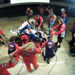 Watch the Honda TT Legends Endurance Racing Team Complete a Pit Stop – Video