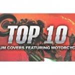 Top 10 Album Covers featuring Motorcycles
