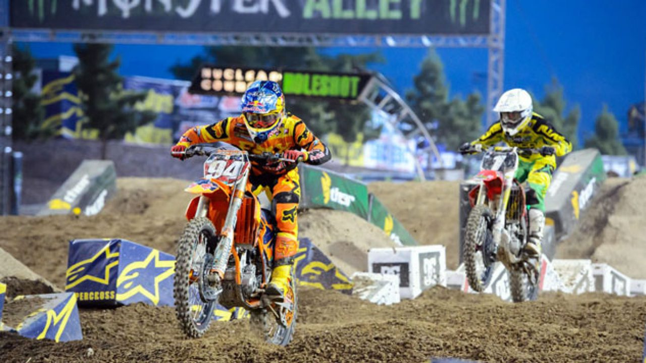 2014 Ama Supercross Schedule Announced Motorcycle Com News