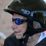 105-Year-Old Woman Rides A Harley-Davidson