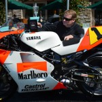 Three-Time World Champion Wayne Rainey Honored At Quail Motorcycle Gathering