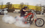 The Nine-Cylinder Motorcycle -