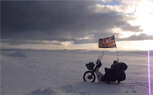 Riding The Arctic Circle…On A Honda C90 -