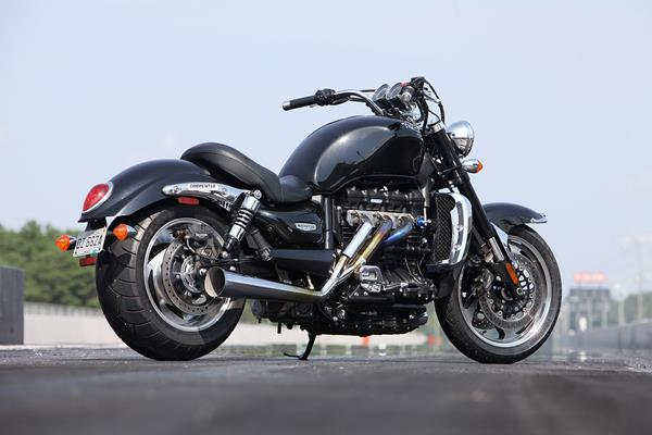 240hp?!? Carpenter Racing's Triumph Rocket III Roadster -