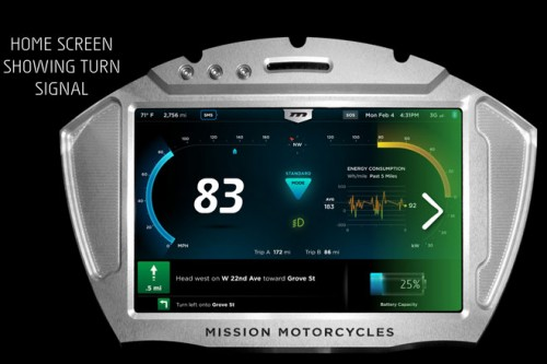 The hi-def control panel is part of the MissionOS which controls every aspect of the RS.