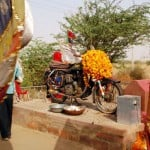 Indian Villagers Build Shrine to Mystical Royal Enfield