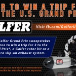Win A Trip To The Red Bull U.S. Grand Prix At Laguna Seca With Galfer
