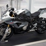 2014 BMW S1000RR in Granit Grey Metallic Matt and Alpine White 3