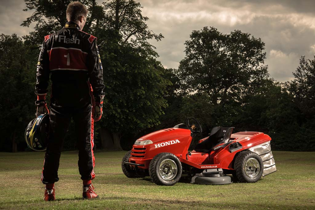 Riding The CBR1000RR-Powered Honda Mean Mower