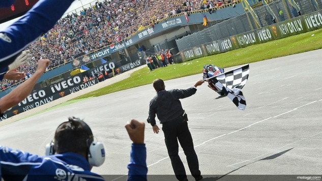 Lorenzo finish Assen1