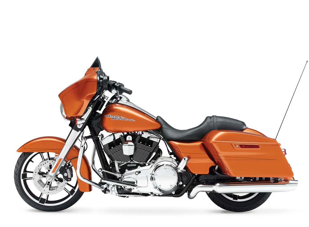 2014 Harley-Davidson Touring Lineup Updated with Project Rushmore