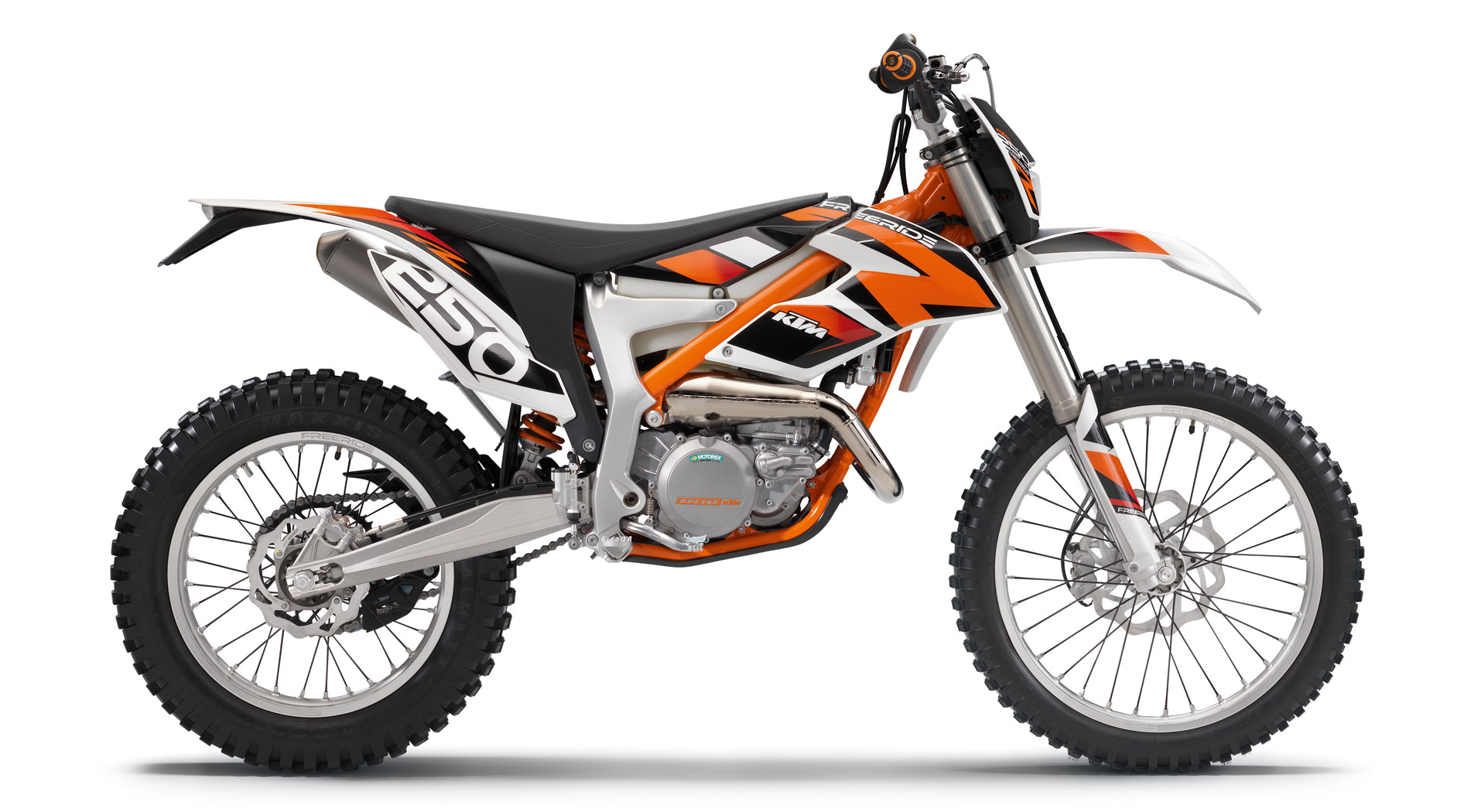 2014 ktm freeride 250r two stroke power in a 204 pound package news. Black Bedroom Furniture Sets. Home Design Ideas