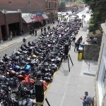 Legends Ride Stops Sturgis Traffic