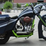 A Seattle Seahawks-Themed Motorcycle. Why? Because Football. And Charity.
