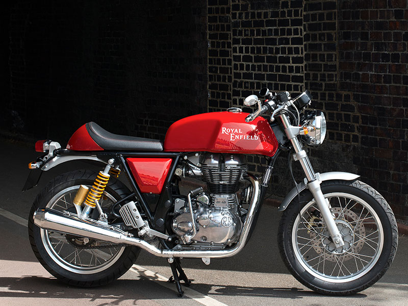 2014 Royal Enfield Continental GT Café Racer Launches in London