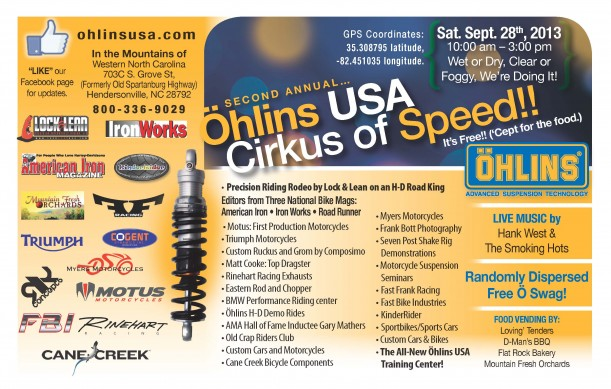 2013 Half-Ohlins-Open House