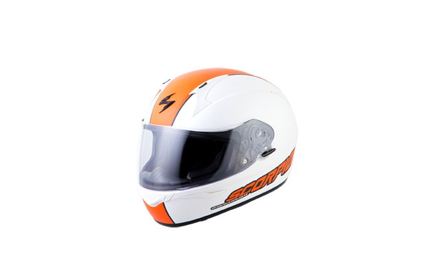 EXO-R410_SPLIT_WHT-ORNG_FRONT_ANGLE