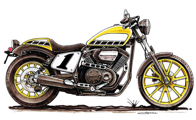 Kenny Roberts Bolt Rendering