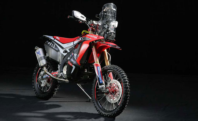 Honda Reveals 2014 CRF450 Rally