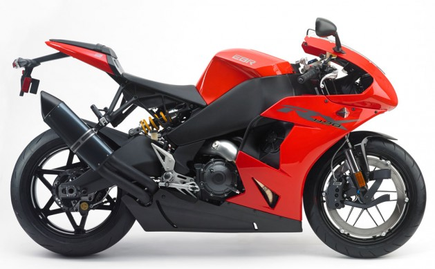 EBR Motorcycles 1190RX  Profile Right Red