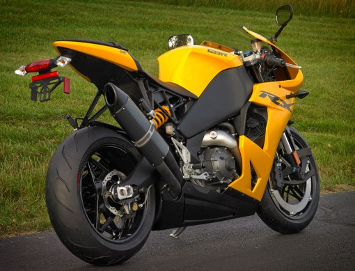 EBR Motorcycles 1190RX  Right Rear
