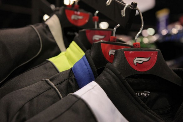 2013 AIMExpo: Fulmer 62B Helmet and Traction Jacket – Video