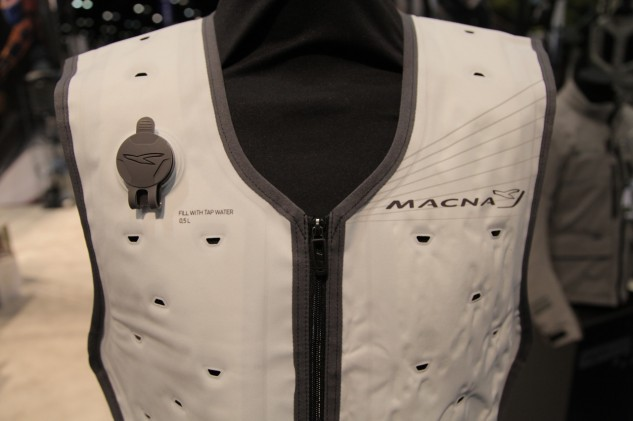 Twisted Throttle Macna Cooling Vest Close