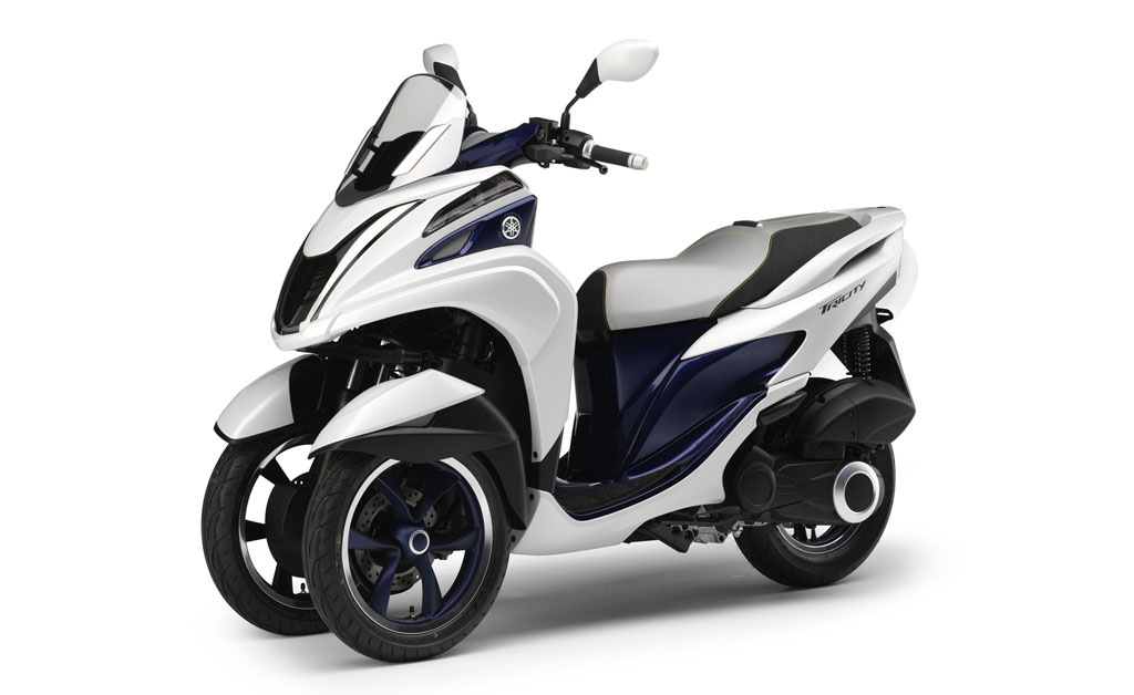 EICMA 2013: Yamaha Reveals the Tricity - Motorcycle.com News