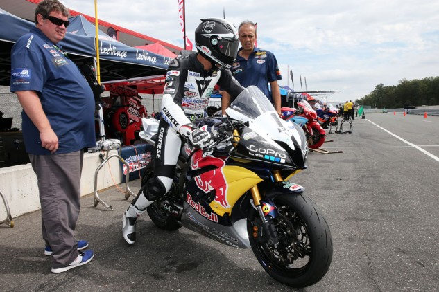Tomas Puerta won the 2013 Supersport West title while Corey Alexander won in the East division.