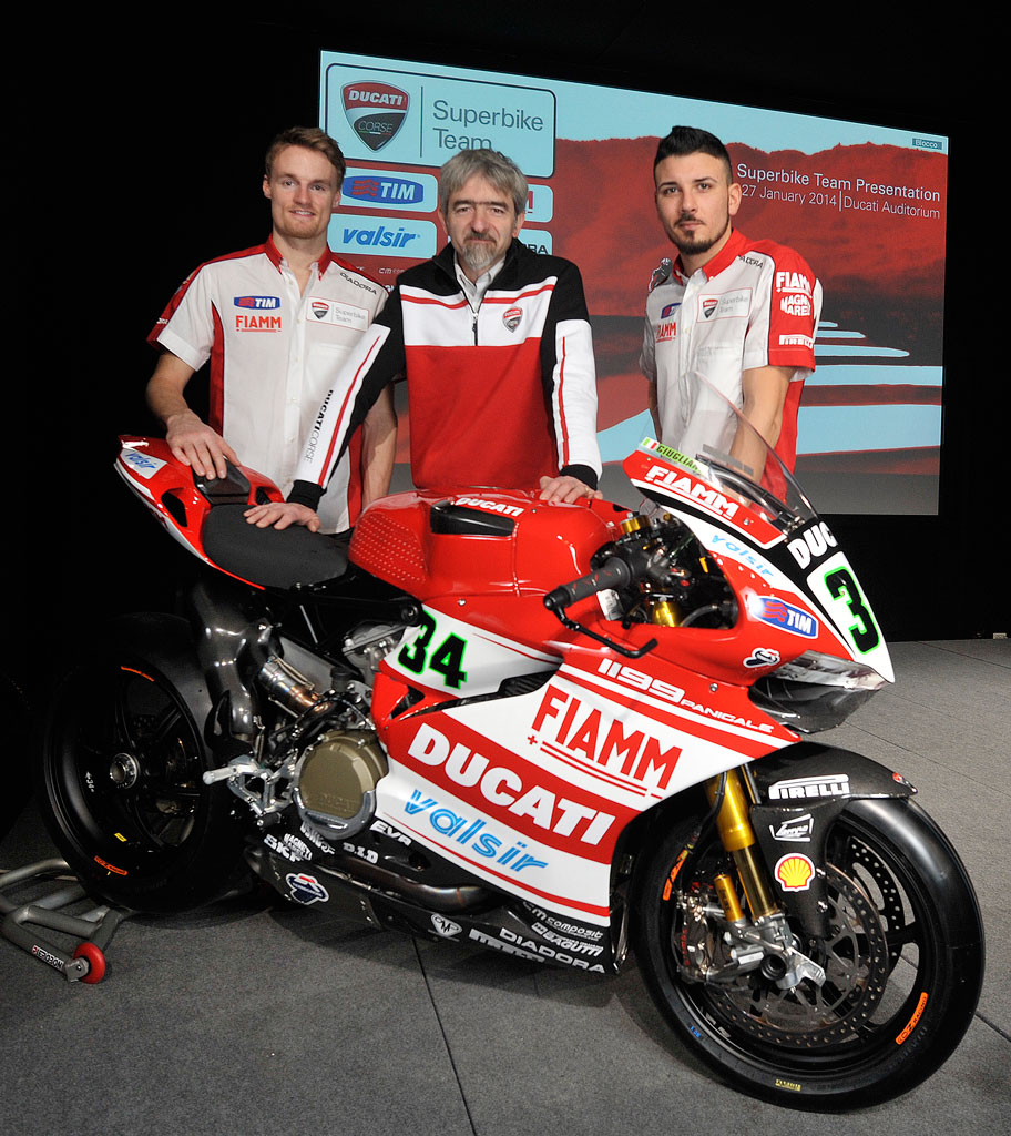 Motorcyclecom Ducati Reveals 2014 World Superbike Championship