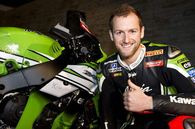 Tom Sykes Kawasaki WSBK team