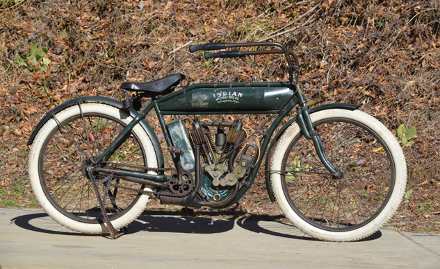 1909 Indian 5 HP Light Twin_Photo Credit Courtesy of RM Auctions
