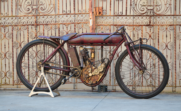 1911 Indian 4 HP Single Board Track_ Courtesy of RM Auctions