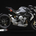 MV Agusta Brutale 800 Dragster grey right profile