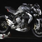 MV Agusta Brutale 800 Dragster grey right front profile