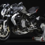 MV Agusta Brutale 800 Dragster grey left front 3/4