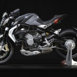 MV Agusta Brutale 800 Dragster grey left profile