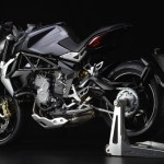 MV Agusta Brutale 800 Dragster grey left profile rear