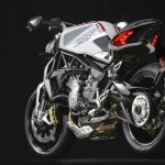 MV Agusta Brutale 800 Dragster white rear 3/4