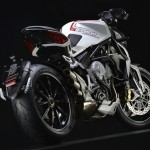 MV Agusta Brutale 800 Dragster white rear low