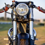 Bucephalus Triumph Custom Motorcycle front