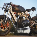 Bucephalus Triumph Custom Motorcycle left beauty 2
