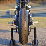 Bucephalus Triumph Custom Motorcycle rear